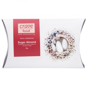 Crave Sugar Almonds 90G
