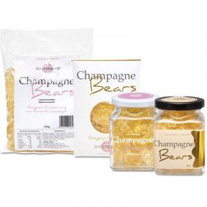 Champagne Gummie Bears