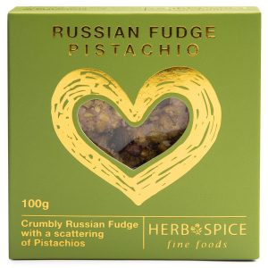 Pistachio Russian Fudge